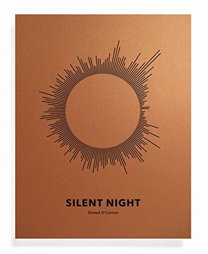 SUN Song Art Print - Silent Night - Motivational Gift Ideas for Xmas - 11 x 14 Unframed Quote Art for Sinéad O'Connor Fan or Home Decor swp 201