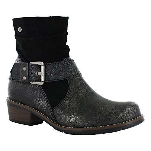 Women's Brushed Wolky Lamina Lerma Boot Ankle Anthracite fqqHwvd