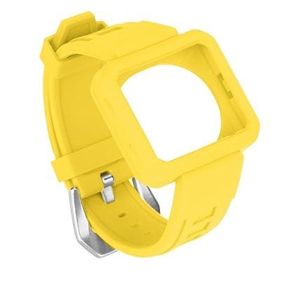 Ceinture Boucle bande poignet remplacement Durable Montre de sport en silicone pour Fitbit Blaze Soft Strap avec Protéger cas multicolore en option