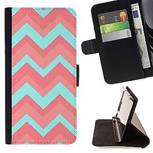For Sony Xperia M4 Aqua Case , Patrón del trullo rojo minimalista- la tarjeta de Crédito Slots PU Funda de cuero Monedero caso cubierta de piel