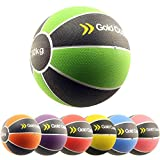 Gold Coast 2kg - 10kg Heavy Duty Rubber Medicine Balls - For Weights Training Exercise Fitness MMA Boxing