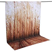 Neewer 5x7ft/152x213cm 100% Polyester Wooden Backdrop Background for Photography Studio Video Shooting (Backdrop Only!)