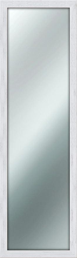 Lupia Specchio da Parete Mirror Shabby Chic 40X125 cm Colore Bianco