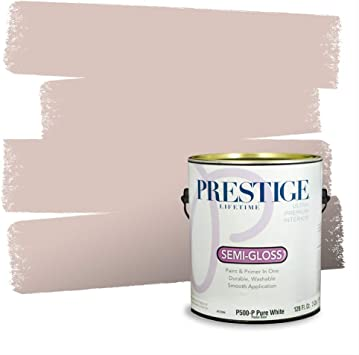 Prestige Paints Interior Paint And Primer In One Comparable Match Of Behr Bella Mia Semi Gloss 1 Gallon Amazon Com