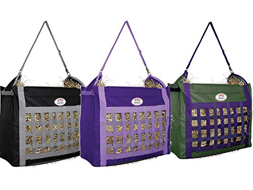 Top Load Hay Bag with Slow Feed Opening by Derby Originals (Purple/Lavender)