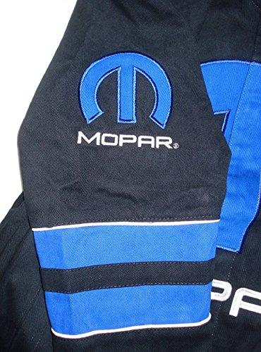 Dodge Mopar Embroidered Cotton Jacket black JH Design Generic XLarge by J.H. Design (Image #4)