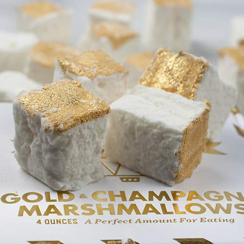 - Gold Champagne Marshmallow Gift Box by Wondermade (4 ounce)