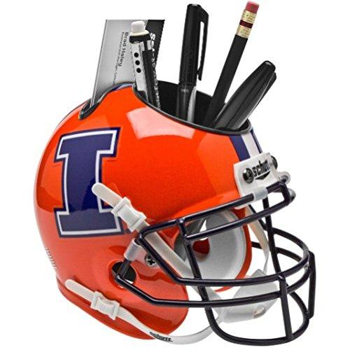 ILLINOIS FIGHTING ILLINI NCAA Schutt MINI Football Helmet OF