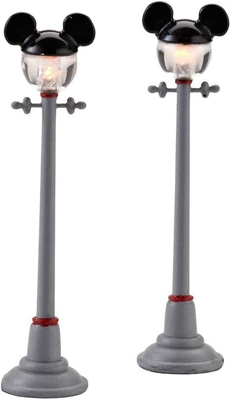 Dеpаrtmеnt 56 Home Decor Disney Village Mickey Street Lights General Accessory, 4.375 inch