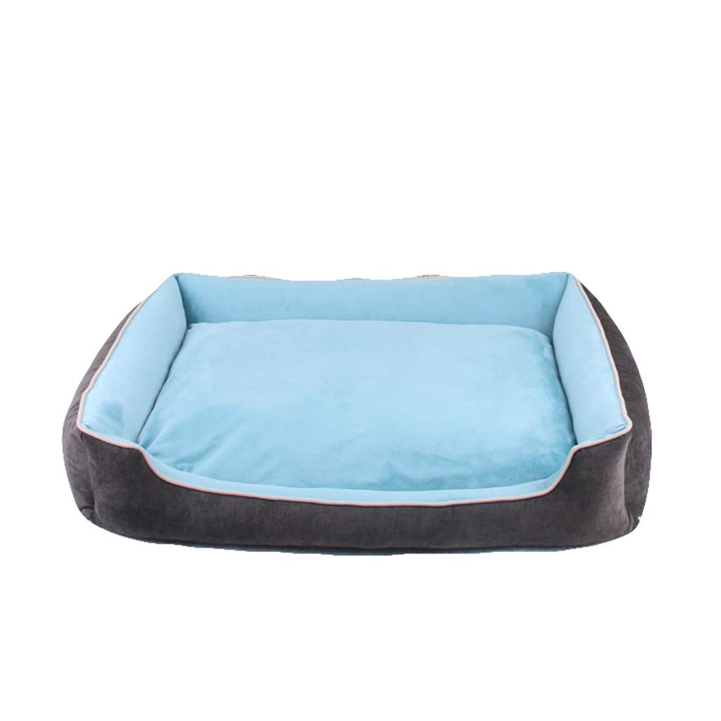A Medium A Medium Qi Pet Dog Cat Bed For Teddy golden Retriever Large Dog Bed Mat Comfort And Warmth Washable Kennel (color   A, Size   M)