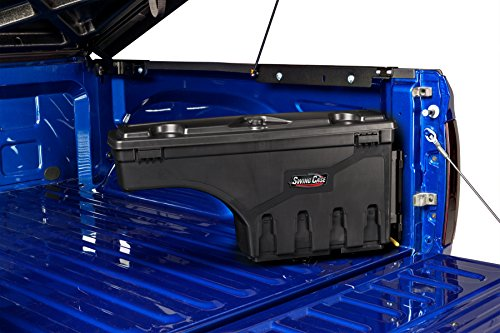UnderCover SwingCase Truck Storage Box | SC100D | fits 2007-2018 Chevrolet Silverado/GMC Sierra 1500-3500 Drivers Side (Black Truck Tool Box)
