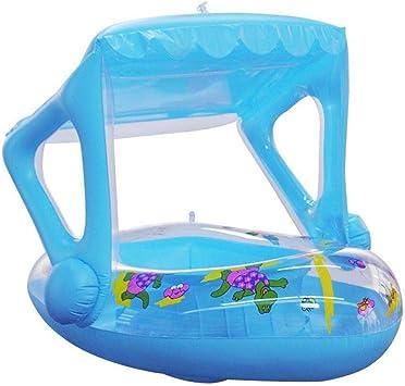 Yangmg Flotador de Piscina for bebés, Bote Inflable de Dibujos ...