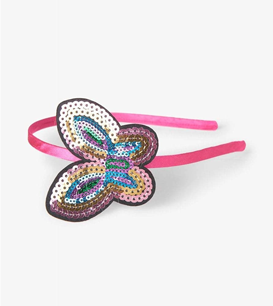 Hatley Sequined Butterfly Headband