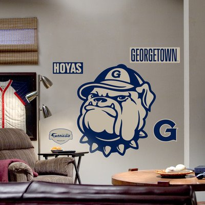 College Teams NCAA Logo Wall Decal NCAA Team: Georgetown by FATHEAD