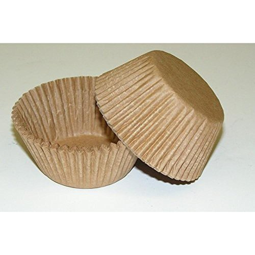 Price comparison product image 500pc Unbleached Lightweight Standard Size Cupcake Baking Cups Liners Wrappers