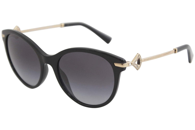 f52db5953bfae Amazon.com  Bvlgari BV8210B 501 8G Black BV8210B Cats Eyes Sunglasses Lens  Category 3 Size  Bvlgari  Clothing