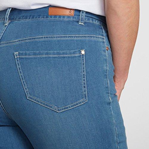 Double Blu Stone Jeans Slim Donna Castaluna xvqSZIU