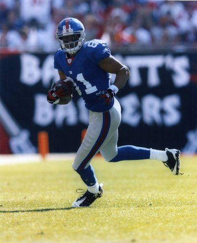 AMANI TOOMER NEW YORK GIANTS 8X10 SPORTS ACTION PHOTO - G Amani