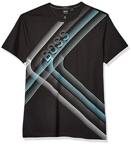 BOSS Green Men's T-Shirt, Black, XL
