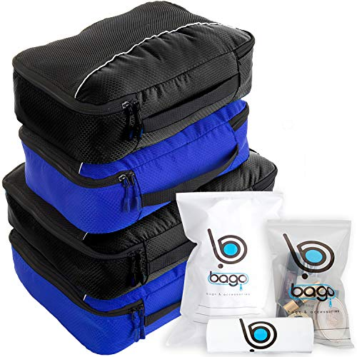 Bolsa 4 Con Cubos Embalaje 2deepblue Valor Viajes Protectora Documentos 2black Para Organizador Establecido De FYqRFv