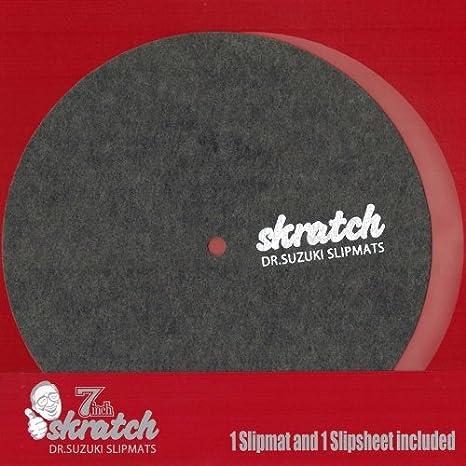 Dr Suzuki 7 Inch Scratch Slipmat con slipsheet: Amazon.es ...