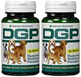 American BioSciences DGP Joint Support For Pets All Natural Formula – 60 Chewable Tablets (2-Pack)