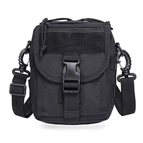 Tactical Waist Pack Hip Belt Bag Pouch for Hiking Climbing Outdoor Bumbag