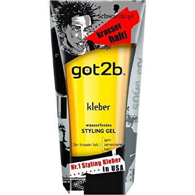 "'Negro cabeza got2b ""adhesivo Glued Gel 150 ml by schlecker GRO?Comercio"