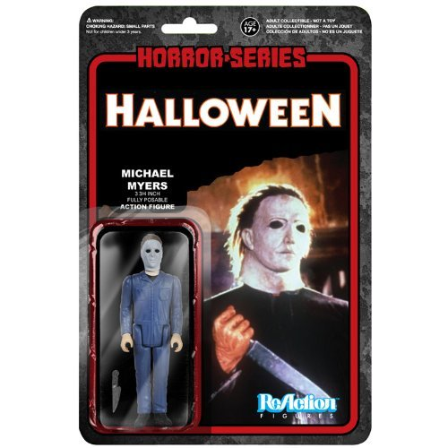 "[Re-action] 3.75 inches Action Figure ""horror"" Series 1 ""Halloween"" Michael Myers"