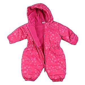 Jacky niña buzo de bebé, Outdoor, rosa fucsia, 62 (3 meses), 382484