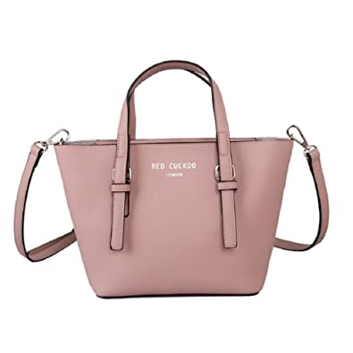 2608ce0d1132 Designer Red Cuckoo London Grab Bag (Pink)  Amazon.co.uk  Shoes   Bags