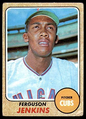 1968 Topps # 410 Ferguson Jenkins Chicago Cubs (Baseball Card) Dean's Cards 2 - GOOD Cubs ()