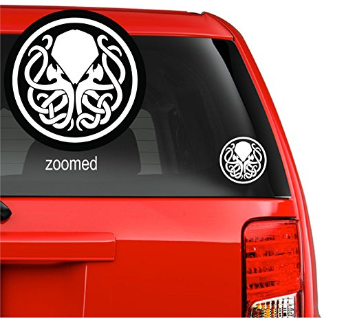 Symbol Cthulhu Badge Myth God Vinyl Decal Sticker for car windows room (11