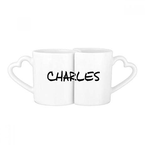 Amazon Com Special Handwriting English Name Charles Lovers Mug