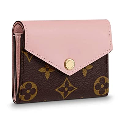 e4ac1763874 Amazon.com: Louis Vuitton Monogram Canvas Zoe Mini Wallets Rose ...