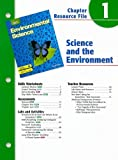 img - for Holt Environmental Science Chapter 1 Resource File: Science and the Environment book / textbook / text book