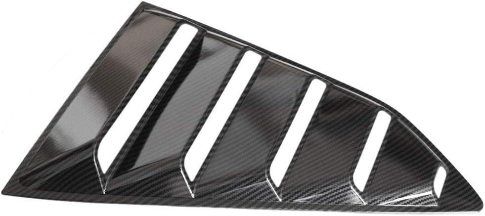 #1 Gazechimp 1 Paire De Persiennes Noires Vives 1//4 Lat/érales Lat/érales pour Chevrolet Camaro