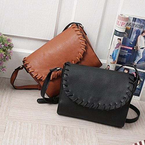 Work Handbags Simple Women's Black Bag Hobo Casual Bag Prettyia Tote Crossbody Shoulder Shopping Bag qPaZwqxER