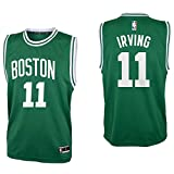 #9: OuterStuff Kyrie Irving Boston Celtics #11 Green Youth Road Replica Jersey