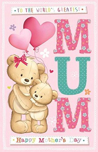 Tarjeta gigante de amapolas para el día de la madre - Los ...