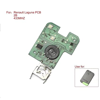 tutent mando a distancia PCB Junta 433 mhz 2 botones para ...
