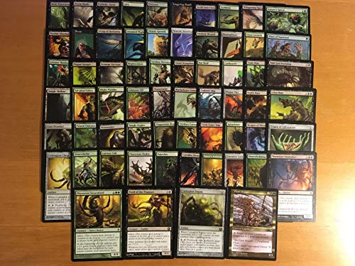 Black/Green Infect Commander Deck - Custom Built - Elite - MTG - EDH - 100 Card
