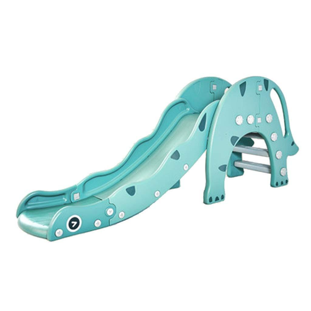 子供用スライド 家庭用屋内子供の遊び場 小さな折りたたみ式組み合わせ玩具 子供用のおもちゃ (Color : Green, Size : 190*45*76cm) B07V31MPQ3 Green 190*45*76cm
