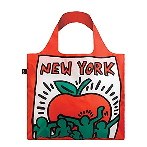 LOQI Museum Keith Haring's New York Reusable Shopping Bag