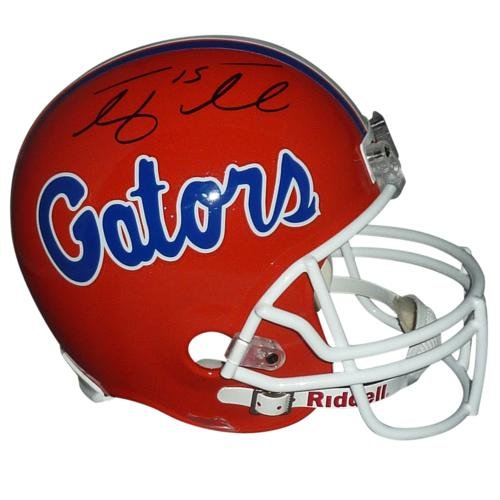 Tim Tebow Autographed Florida Gators Deluxe Full-Size Replica Helmet - Tebow Holo PalmBeachAutographs