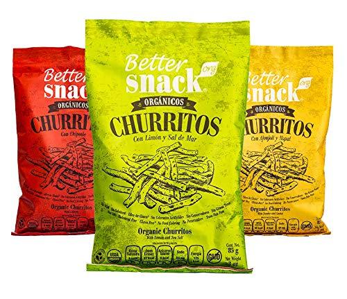 Better SnacksOrg Paquete de aperitivos de maíz sabroso ...