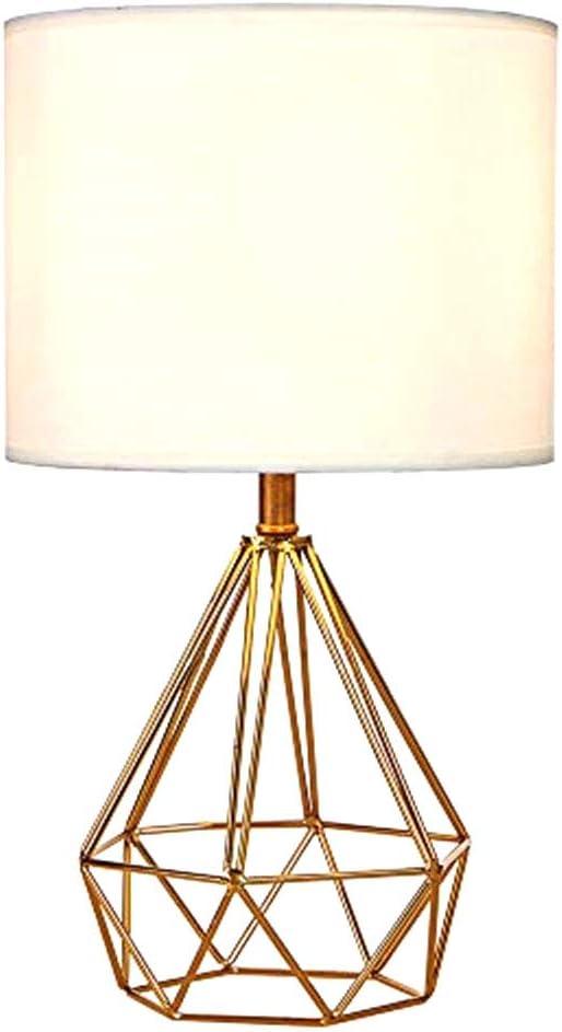 ZXLLAFT Lámpara de Mesa, lámpara de Escritorio con Pantalla de ...