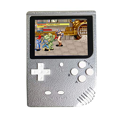 HCDjgh Handheld Game Console with Built in Games,3 Inch 2000 Games Retro FC Game Player Classic Game Consol,Family Recreation Arcade Gaming System Birthday Present for Children