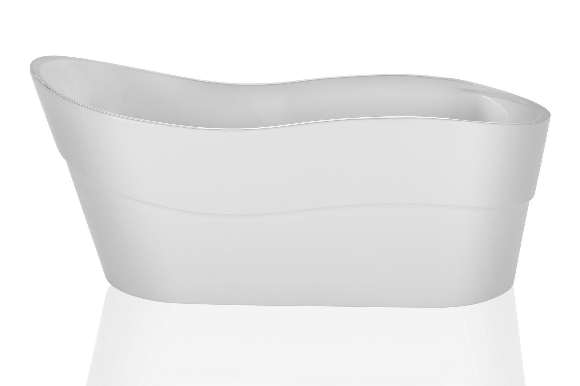 Empava A1527W Luxury Modern Bathroom Freestanding Bathtub, White