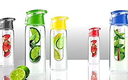 Asobu Flavor It Infuser Water Bottle Pure Fruit Flavour 2 Go Lime Ad-n-art BTA711-4438